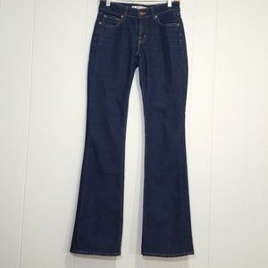J Brand curvy fit boot cut flare jeans ink size 27